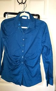 New York & Company fitted dress shirt